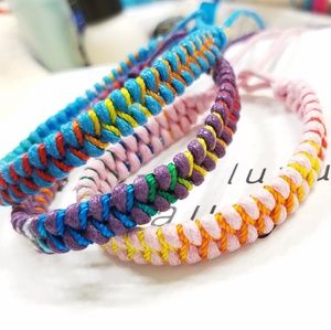 3 Fishtail Friendship Bracelets